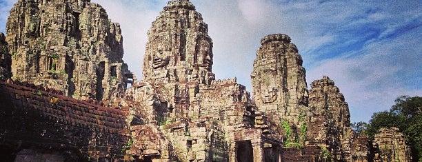 Angkor Thom (អង្គរធំ) is one of Siem Reap Sep2012.
