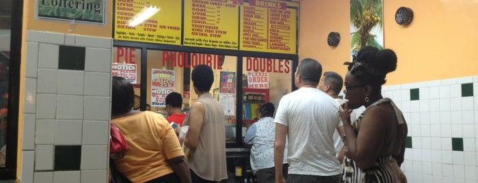 Ali's T & T Roti is one of Brooklyn.