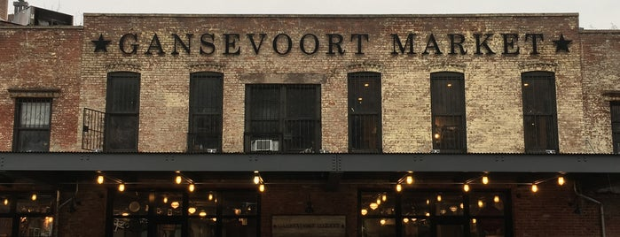 Gansevoort Market is one of New York Eats List.