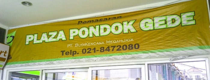 Plaza Pondok Gede is one of Malls in Jabodetabek.
