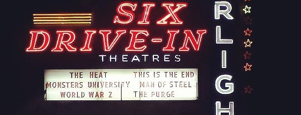 Starlight Six Drive-In is one of Atlanta.