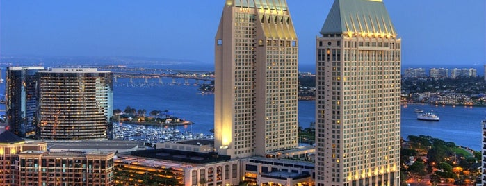 Manchester Grand Hyatt San Diego is one of Ta-Done.