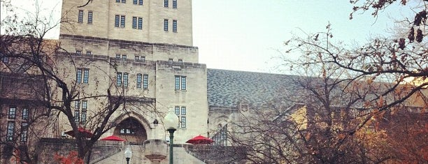 Indiana Memorial Union is one of IU Badge.
