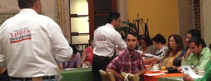 Hotel La Rotonda is one of Un (abogado) chilango en Quéretaro(y otras partes).