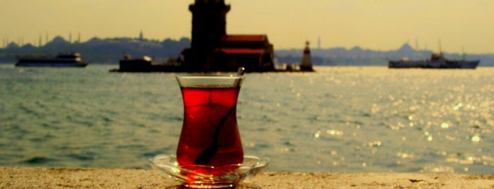 Maiden's Tower is one of Kuyumcu.
