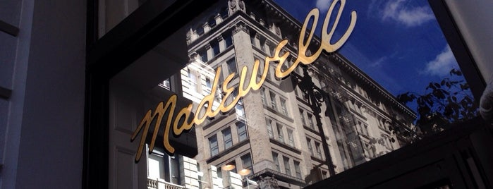 Madewell is one of nyc.