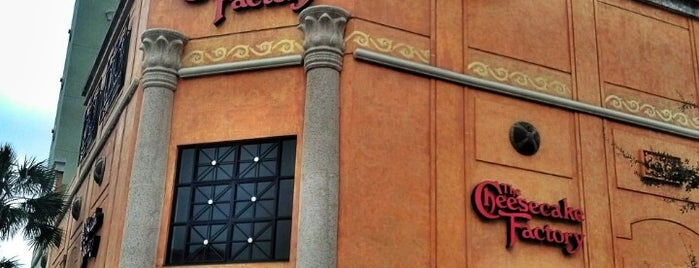 The Cheesecake Factory is one of Food.