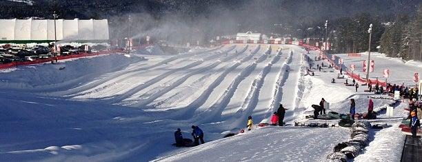Coca Cola Tube Park is one of Ski Bum Badge.