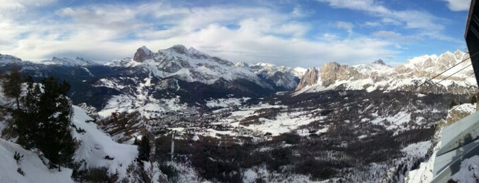 Monte Faloria is one of Cortina.