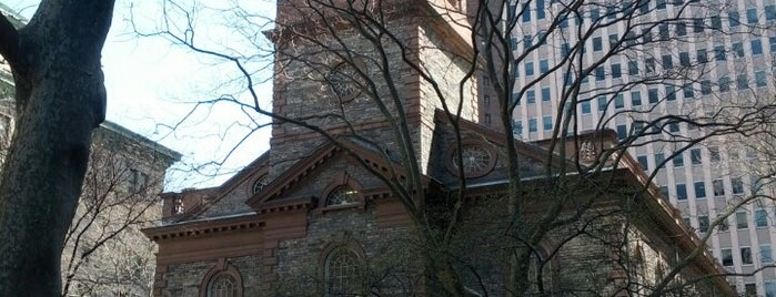 St. Paul's Chapel is one of NYC.