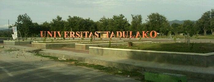 UNIVERSITAS TADULAKO is one of Universitas Tadulako Palu.