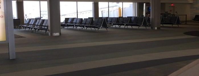 Gate A14 is one of Cincinnati Airport.