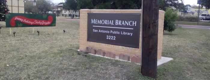 Memorial Library is one of Ya es hora-Libera Tu Voz.
