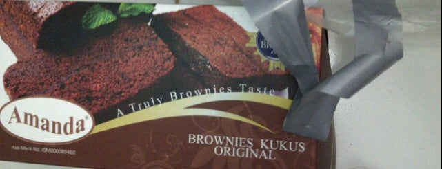 Amanda Brownies Kukus is one of Top 10 favorites places in Yogyakarta, Indonesia.
