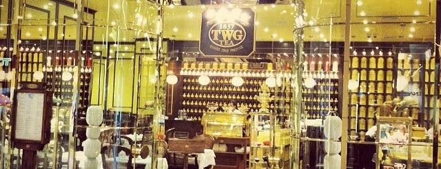TWG Tea Salon is one of Gurney Paragon.