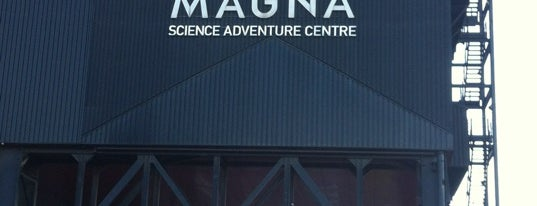 "Magna is one of ""MUST GO""  Sheffield.."