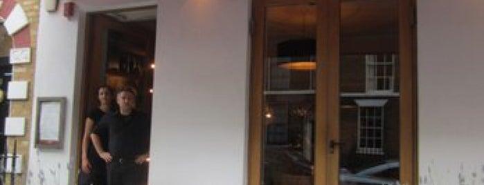 Sardo is one of 20 favorite restaurants in London.
