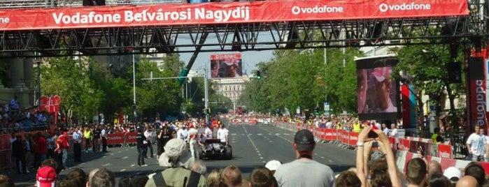 Vodafone Belvárosi Nagydíj is one of 1.