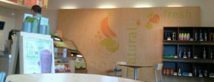 Jamba Juice is one of Favorite places.