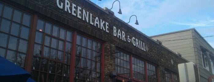 Greenlake Bar & Grill is one of Happy Hour in Seattle.