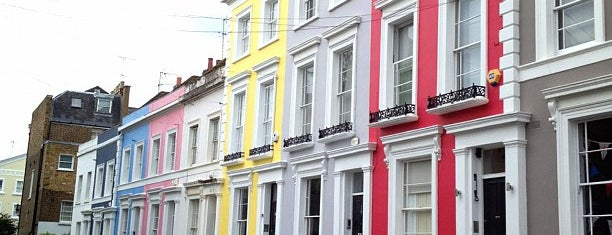 Notting Hill is one of Shopping London.