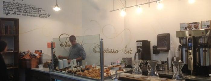 Ramini Espresso Bar is one of NY Espresso.
