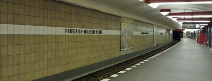 U Friedrich-Wilhelm-Platz is one of U-Bahn Berlin.