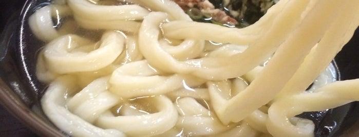 こだわり手打ちうどん 山 is one of めざせ全店制覇~さぬきうどん生活~ Category:Ramen or Noodle House.