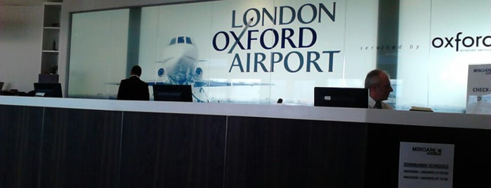 London Oxford Airport (OXF) is one of Airports visited.
