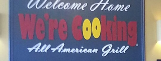 We're Cooking is one of Love to go.