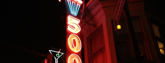 500 Club is one of Must-visit Dive Bars in San Francisco.