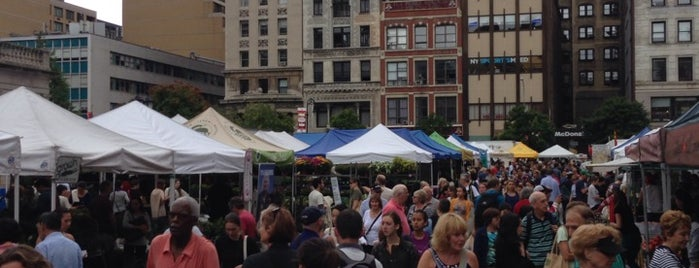 Union Square Greenmarket is one of Kevin's tips.