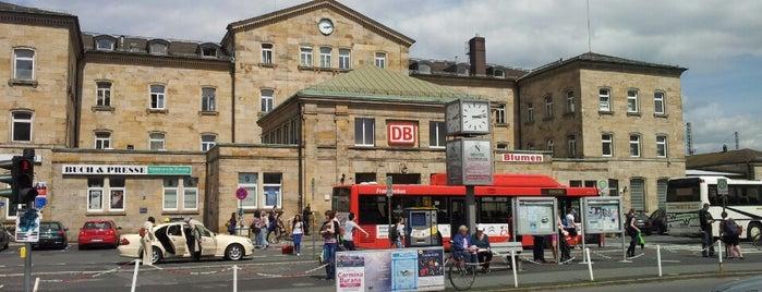 Bahnhof Bamberg is one of Bamberg #4sqCities.