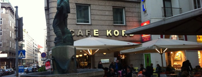 Cafe Korb is one of Vienna.