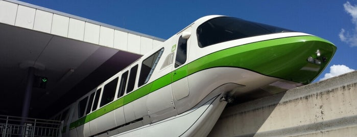 Transportation & Ticket Center Monorail Station is one of Travel.