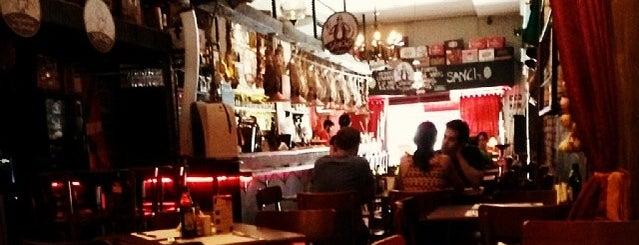 Sancho Bar y Tapas is one of Deixei meu <3 em SP.