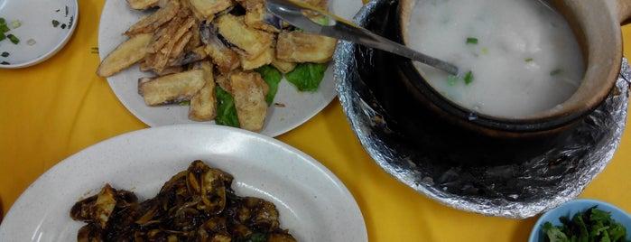 Restaurant Onn Kee Claypot Seafood Porridge is one of Cheap eats in KL.