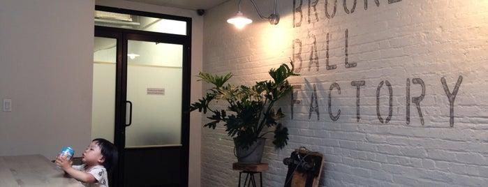 Brooklyn Ball Factory is one of Coffee+.