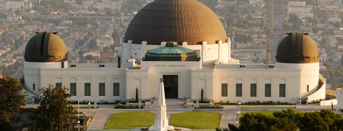 Griffith Observatory is one of I'm in L.A. you trick!.