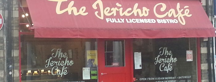 Jericho Café is one of Oxford.