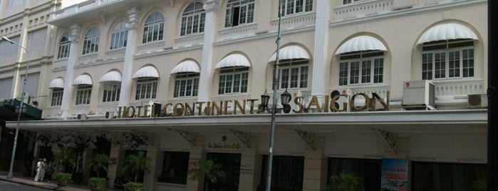 Hotel Continental Saigon is one of List 1.