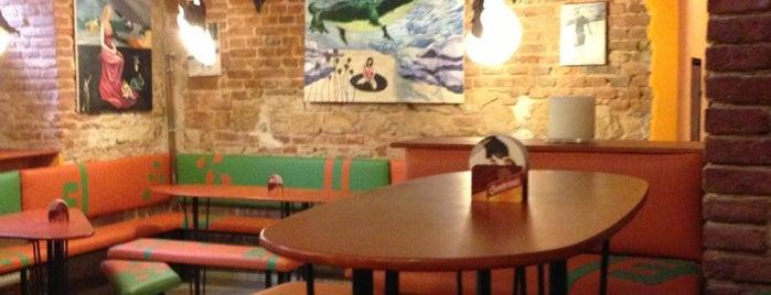 Vegtral is one of Vegetarian restaurants in Prague.