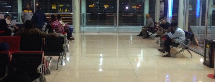 Gate A5 is one of Soekarno Hatta International Airport (CGK).