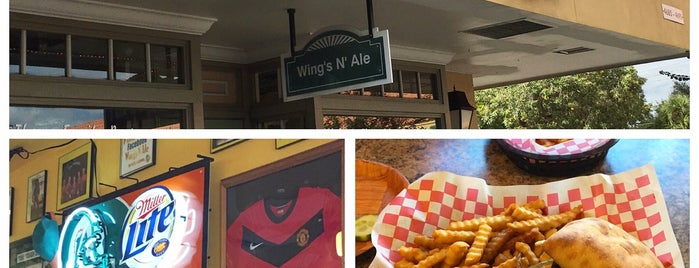 Wings 'N' Ale is one of Peewee's Big Ass South Florida Food Adventure!.