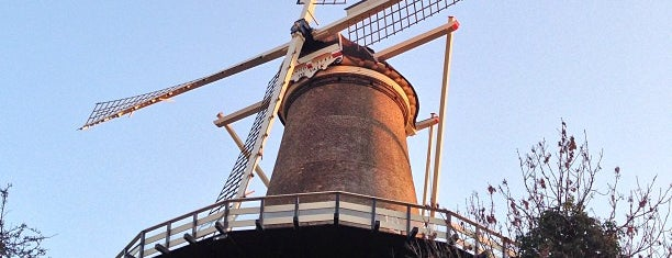 Museummolen de Valk is one of Leiden, Holland.