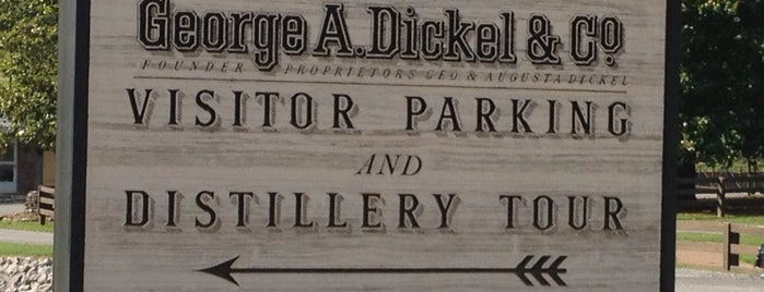 George Dickel Distillery is one of Best Places to Check out in United States Pt 4.