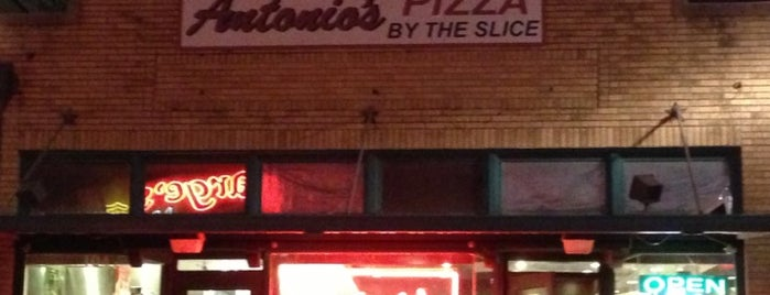 Antonio's Pizza by the Slice is one of My favorite food places in B/CS.