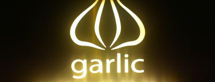 Garlic is one of Shanghai.