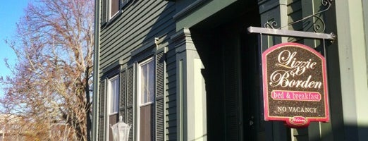 Lizzie Borden's Bed & Breakfast / Museum is one of Best Places to Check out in United States Pt 2.