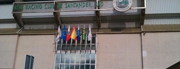 Campos de Sport de El Sardinero is one of Santander.